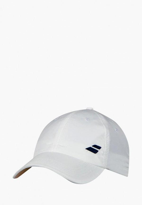 мужская бейсболка babolat, белая