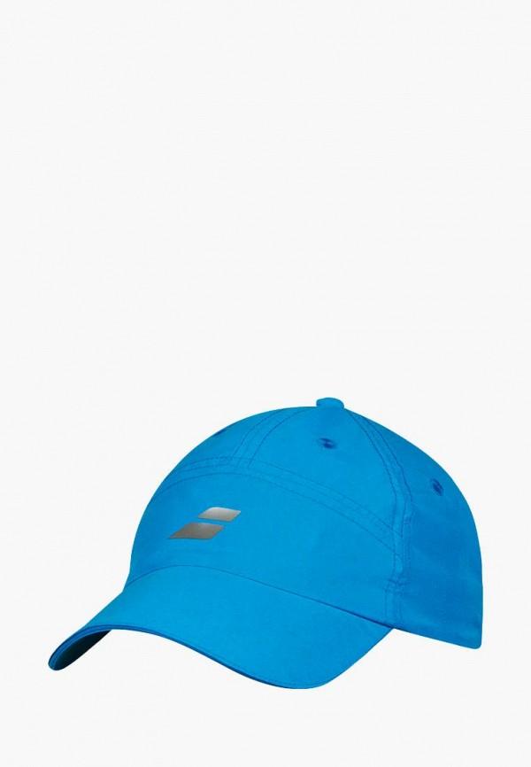 мужская бейсболка babolat, голубая