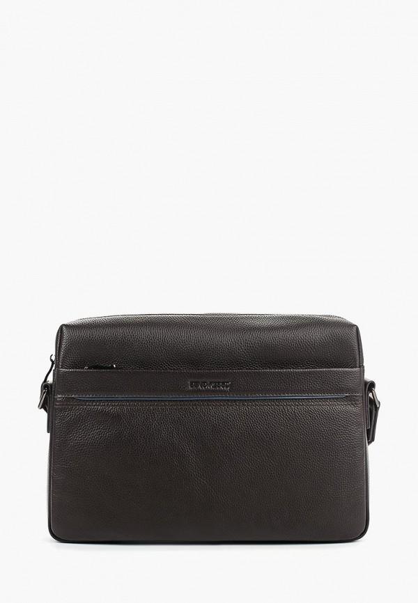 мужская сумка dino ricci, коричневая