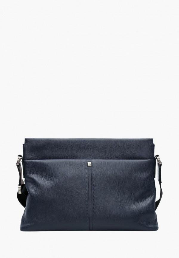 мужская сумка eleganzza, синяя