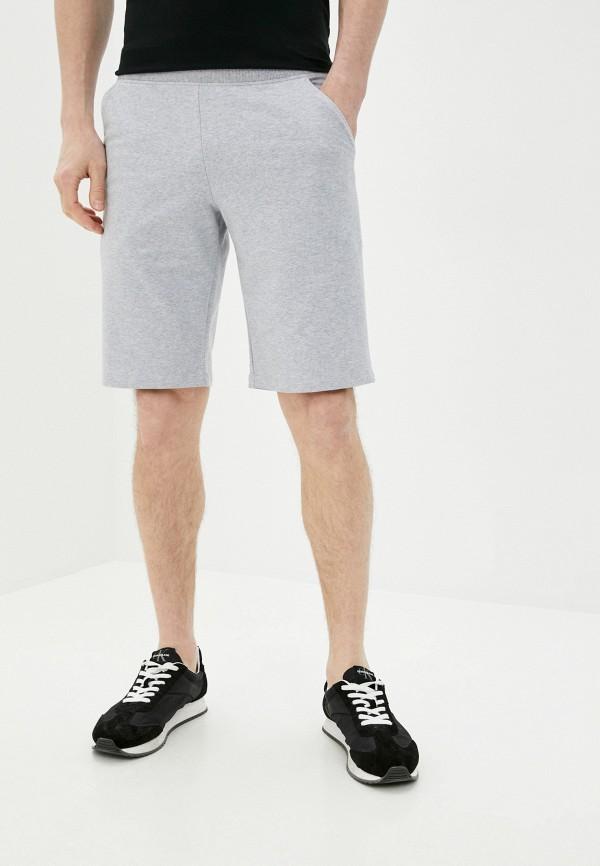 мужские повседневные шорты mark formelle, серые