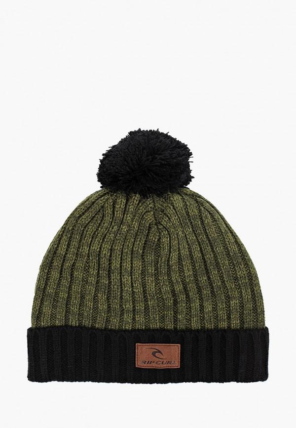 мужская шапка rip curl, зеленая