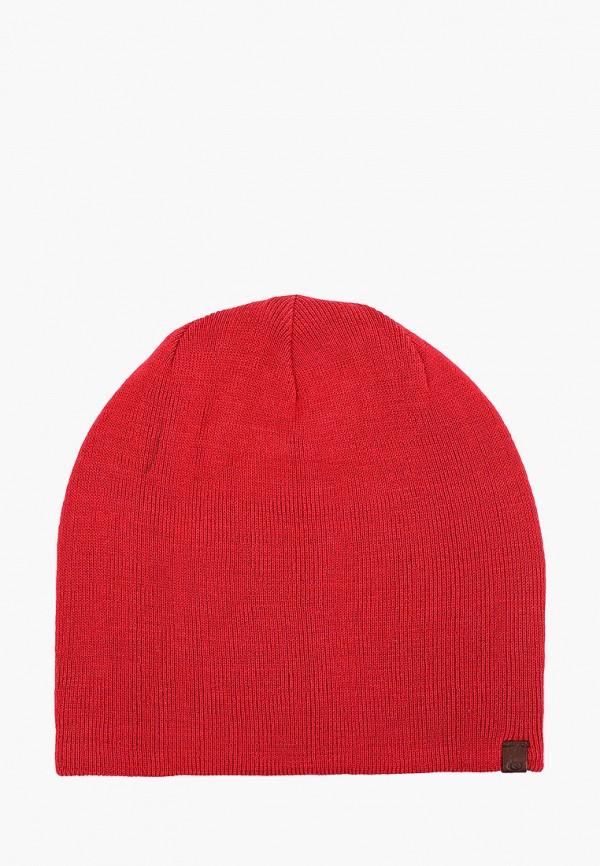 мужская шапка rip curl, красная