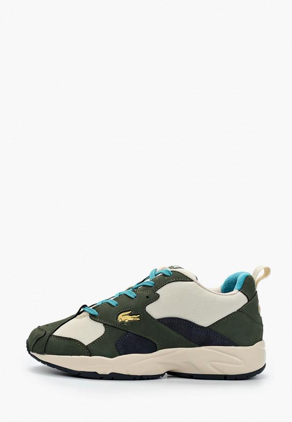 мужские низкие кроссовки lacoste, разноцветные