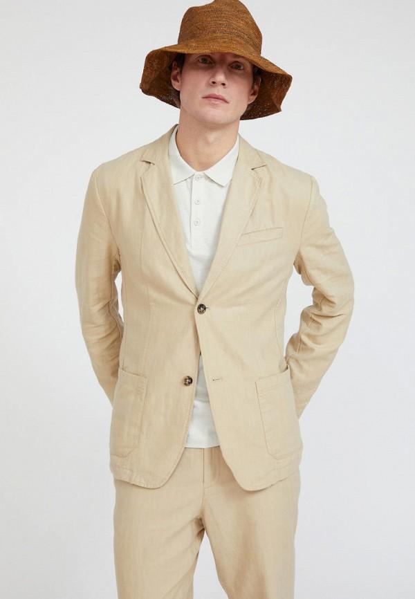 Пиджак Finn Flare бежевого цвета