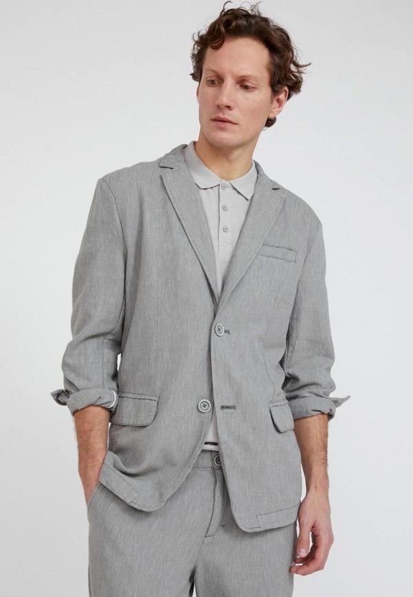 Пиджак Finn Flare серого цвета