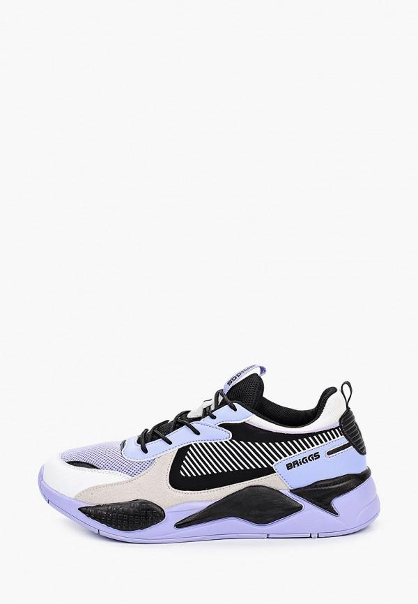 мужские низкие кроссовки briggs, фиолетовые