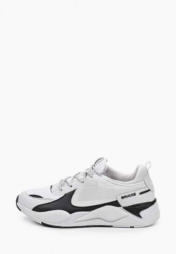 мужские низкие кроссовки briggs, серые