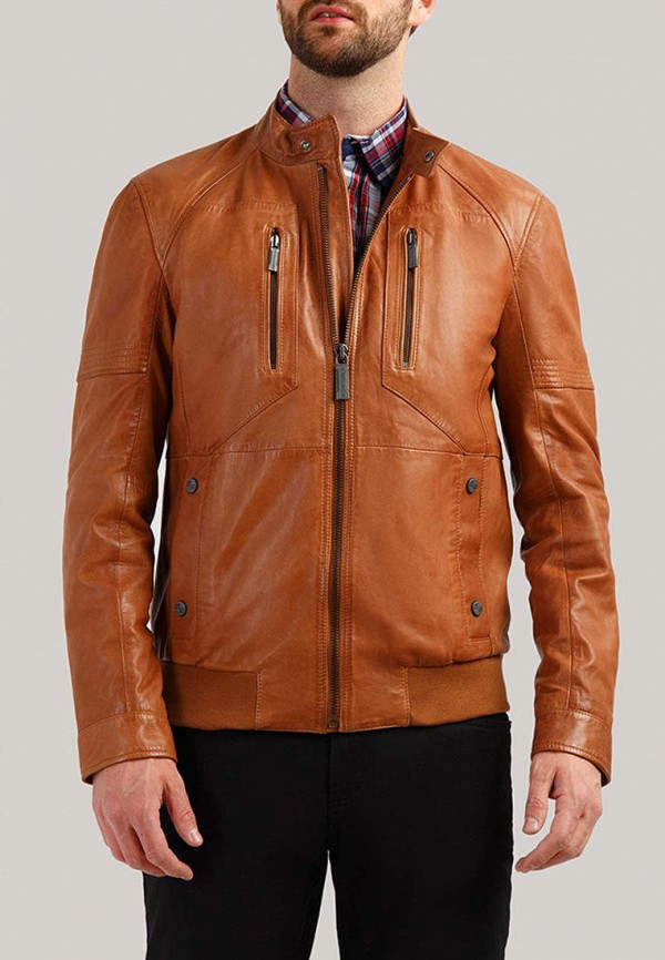 цена Куртка кожаная Finn Flare Finn Flare MP002XM0N9QV онлайн в 2017 году