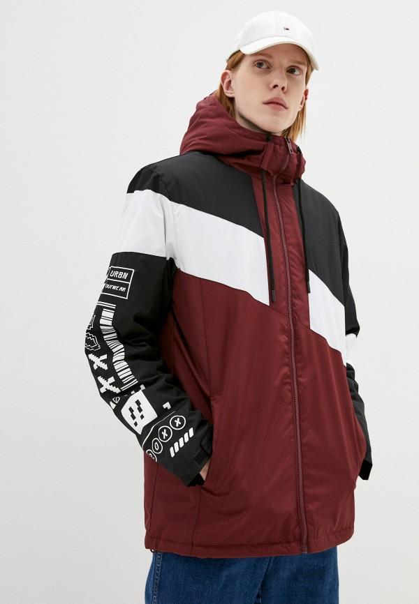 мужская утепленные куртка befree, разноцветная