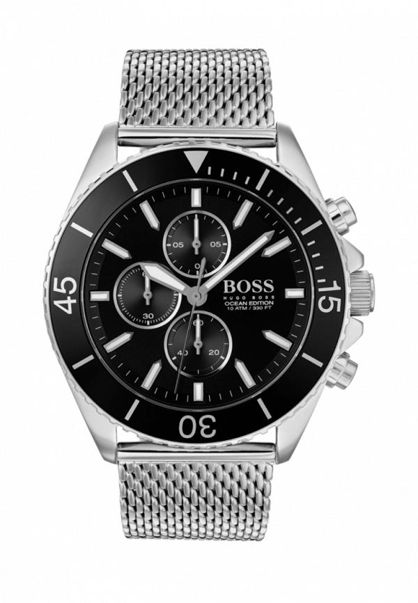 мужские часы hugo boss, серебряные