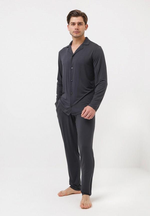 Пижама Luisa Moretti серого цвета