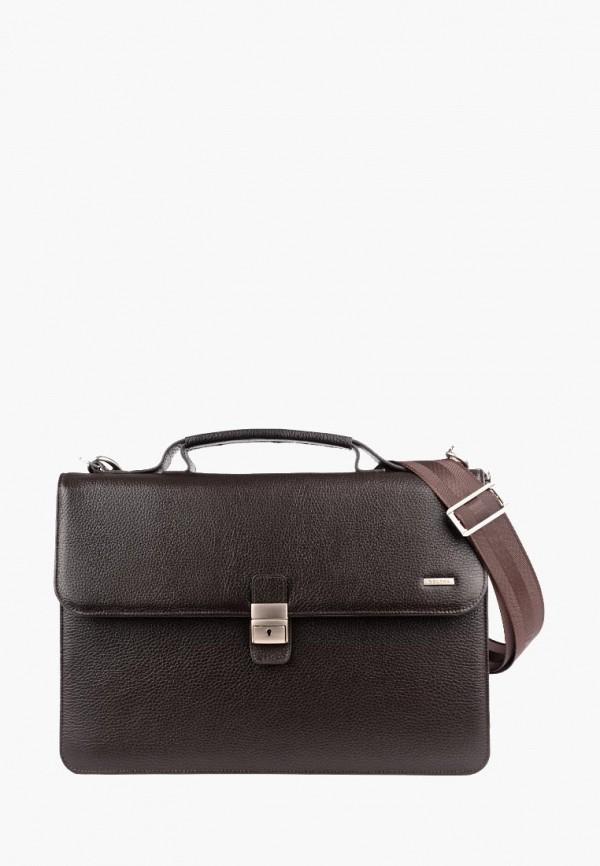 мужской портфель r.blake collection for men, коричневый