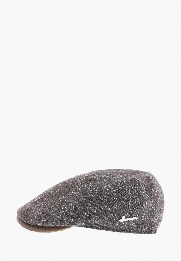 мужская кепка herman, коричневая