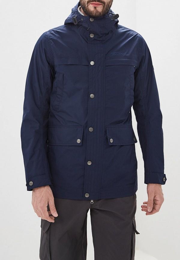мужская куртка tenson, синяя