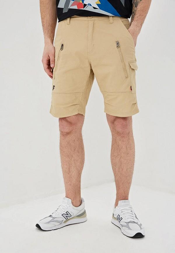 мужские повседневные шорты forward, бежевые