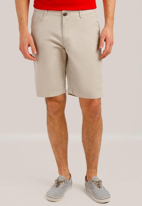 мужские шорты finn flare, бежевые