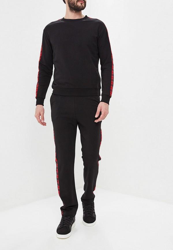 мужской спортивные спортивный костюм eniland, черный