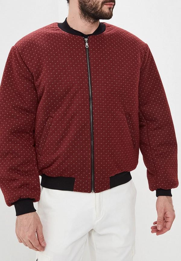 мужская куртка eniland, бордовая
