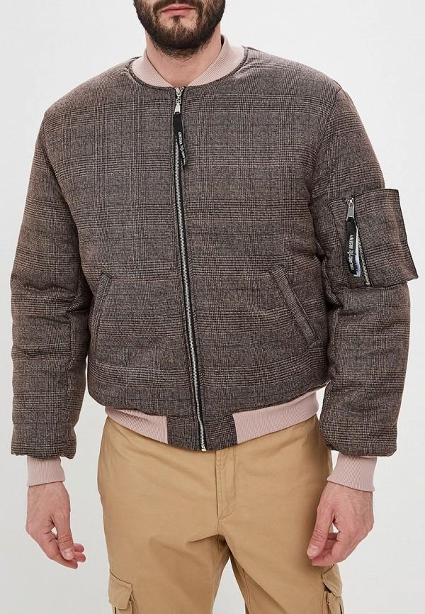 мужская куртка eniland, коричневая