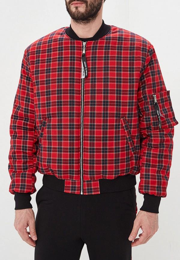 мужская куртка eniland, красная