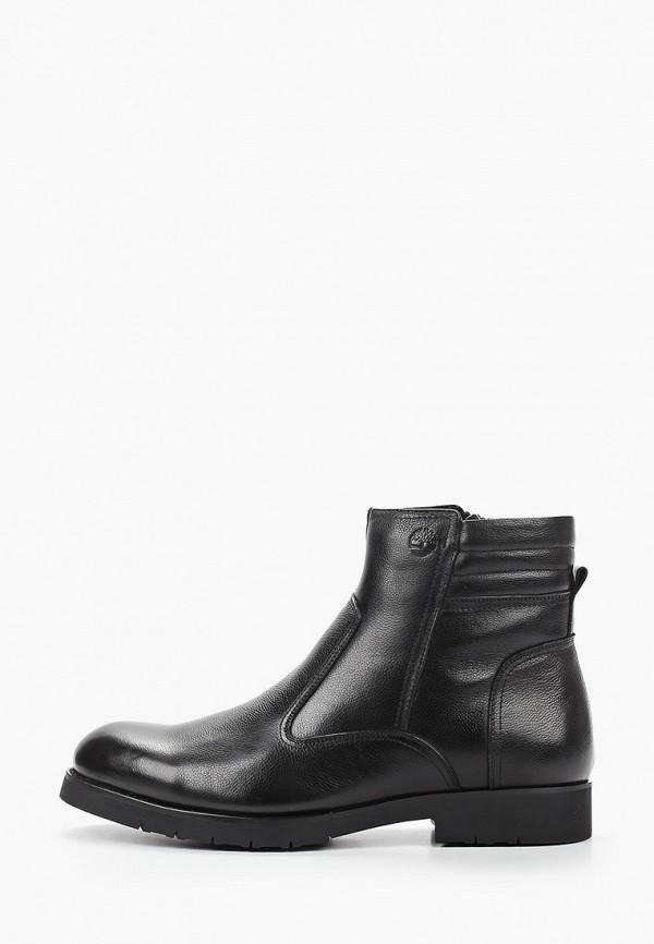 мужские высокие ботинки dino ricci select, черные