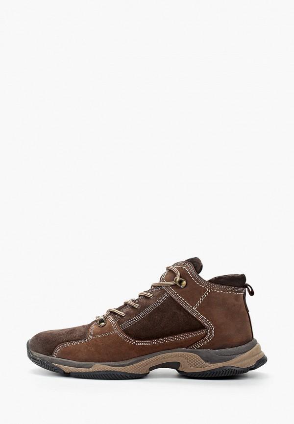 мужские высокие кроссовки nexpero, коричневые
