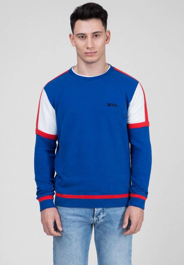 мужской свитшот pepe jeans london, синий