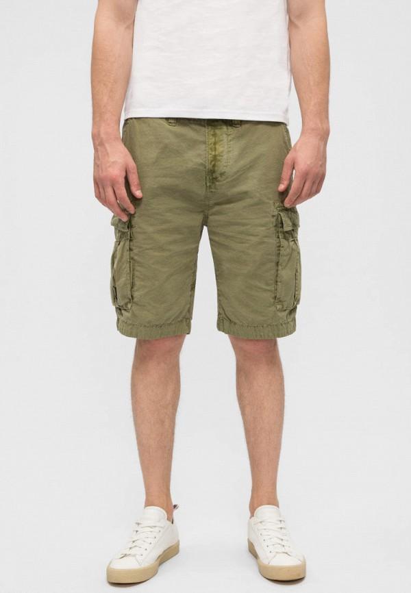 мужские повседневные шорты pepe jeans london, хаки