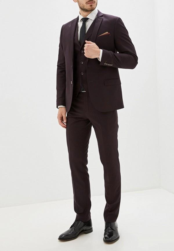 мужской костюм laconi, фиолетовый