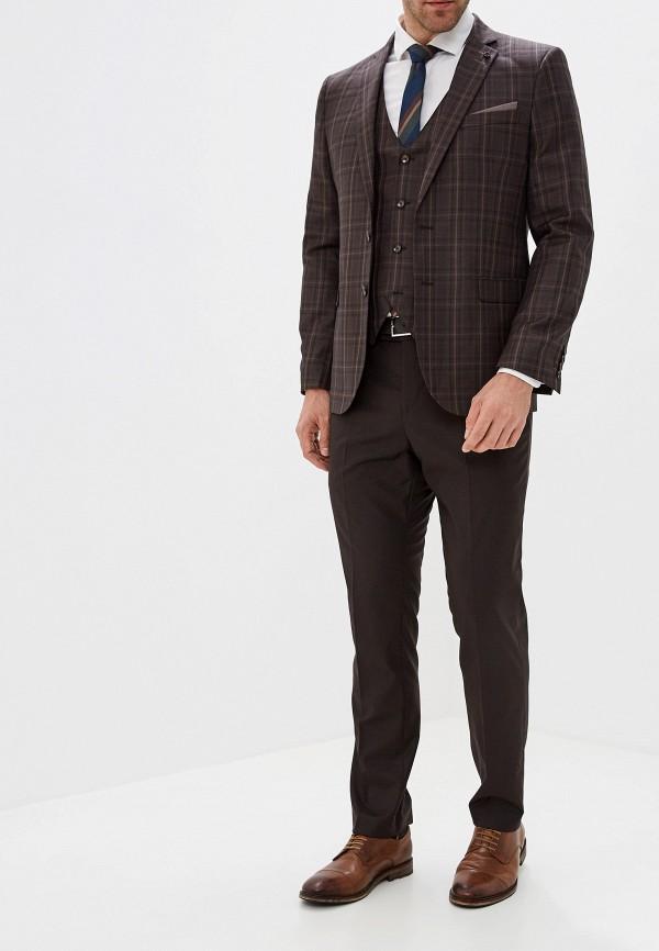 мужской костюм laconi, коричневый