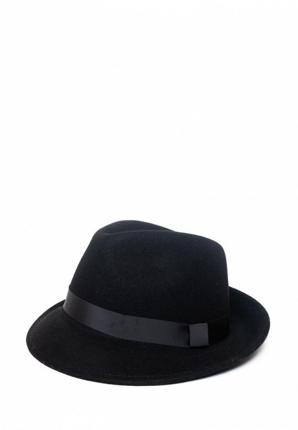 мужская шляпа elegant, черная