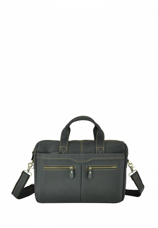 мужская сумка royalbag, серая