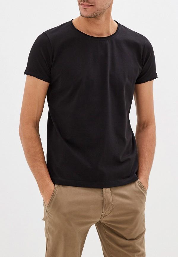 мужская футболка sava mari, черная