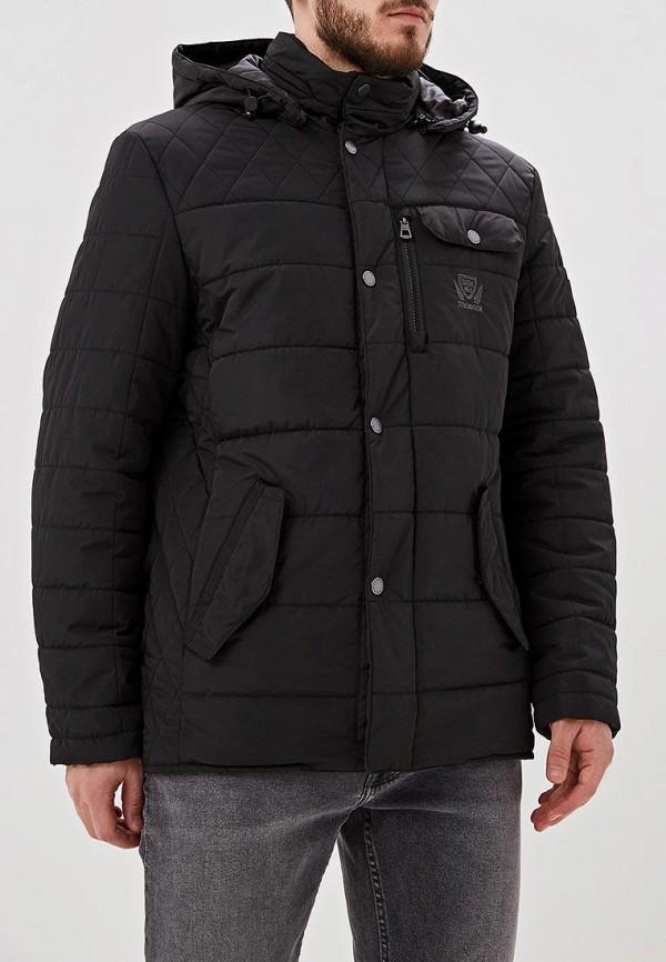мужская утепленные куртка baon, черная