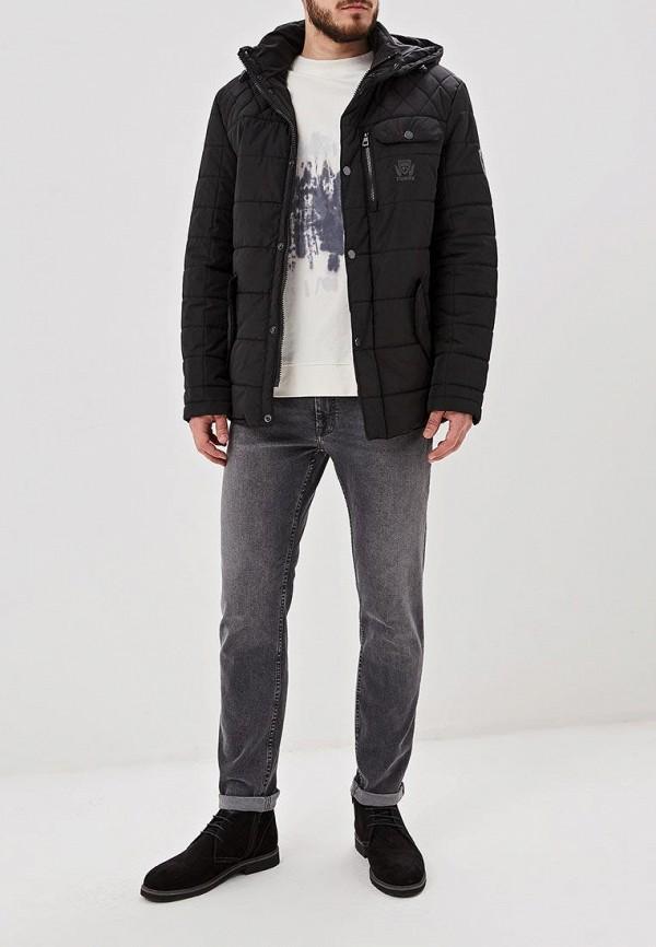 Фото 2 - Куртку утепленная Baon черного цвета