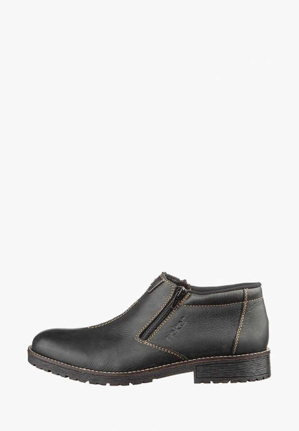 мужские ботинки rieker, коричневые