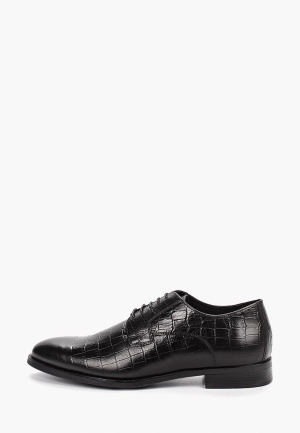 мужские туфли-дерби ralf ringer, черные