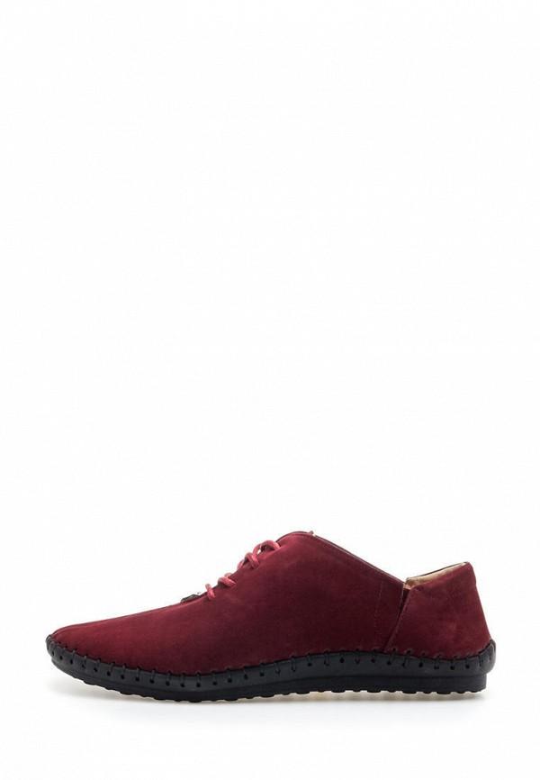 мужские ботинки broni, бордовые