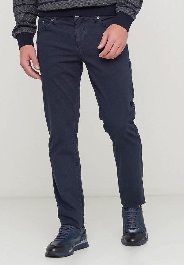 мужские повседневные брюки campione, синие