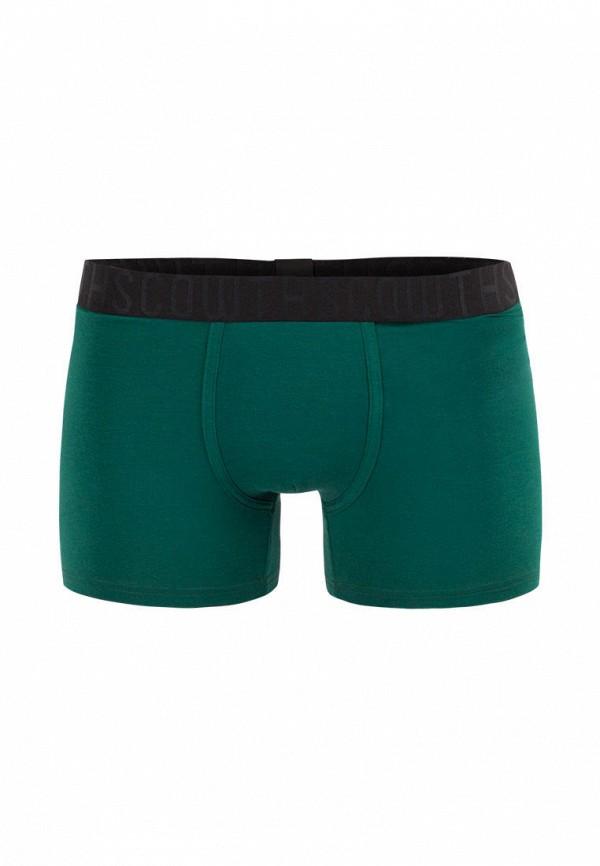 мужские трусы-боксеры scowth, зеленые