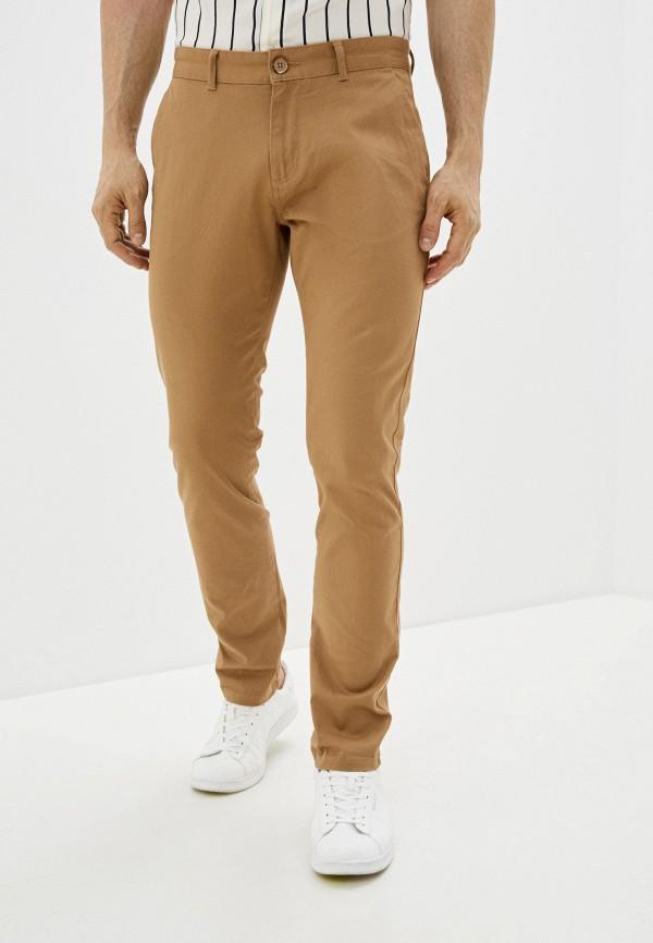мужские брюки чинос u.s. polo assn, коричневые