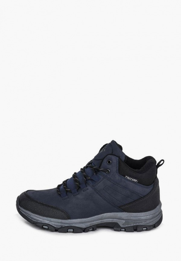 мужские высокие ботинки t.taccardi, синие