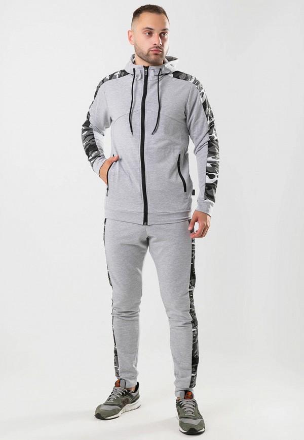 мужской спортивный костюм intruder, серый