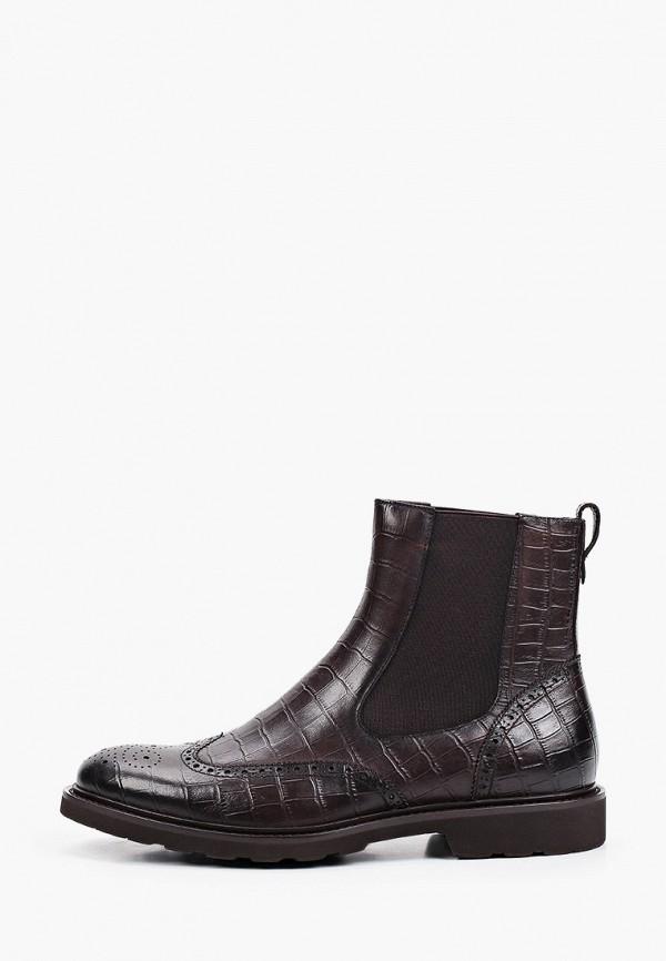 мужские ботинки-челси vitacci, коричневые