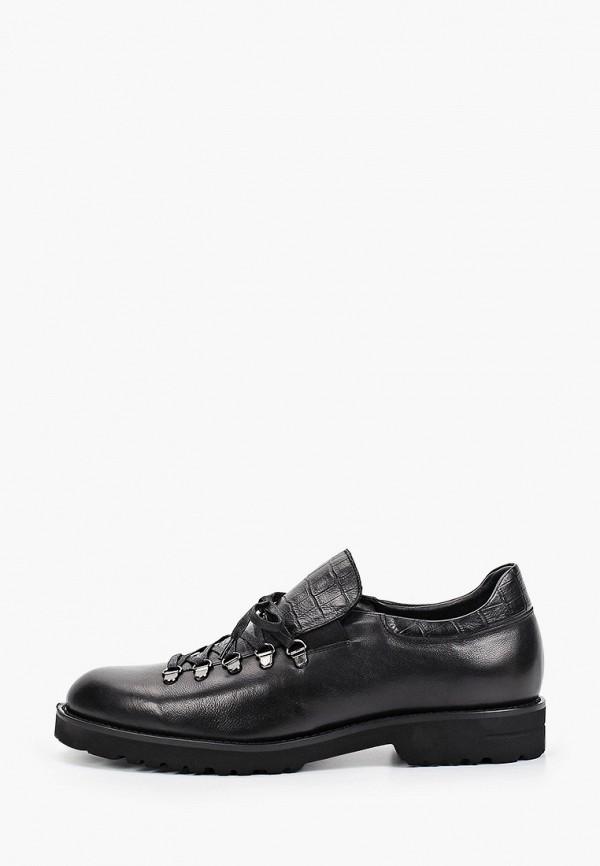 мужские туфли-оксфорды vitacci, черные
