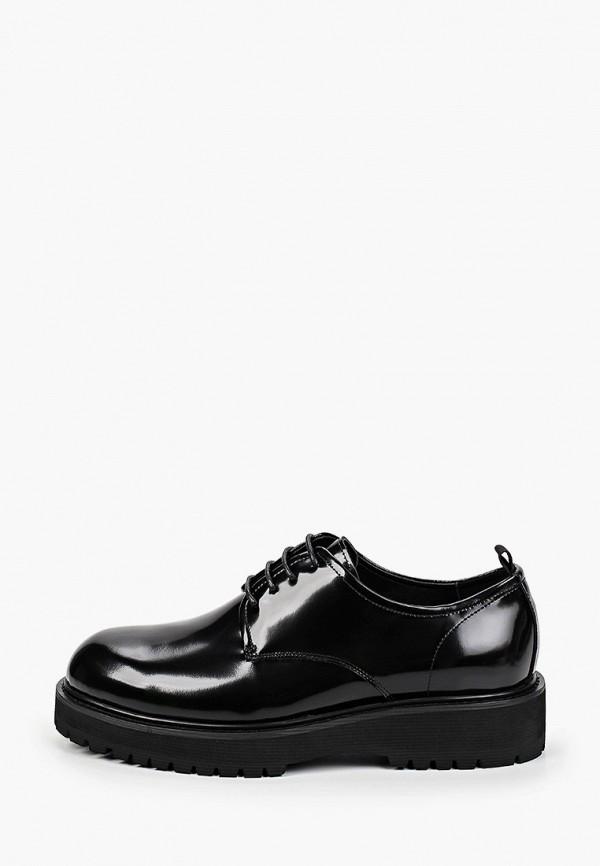 мужские туфли-дерби vitacci, черные