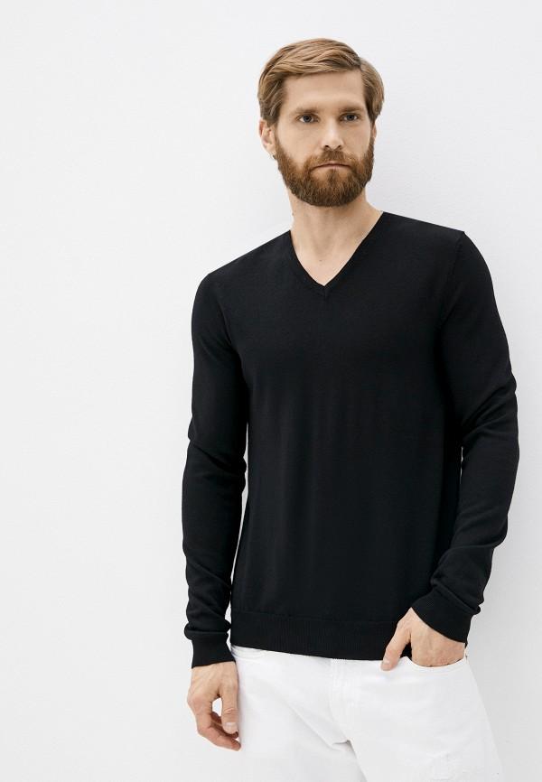 мужской пуловер hugo, черный