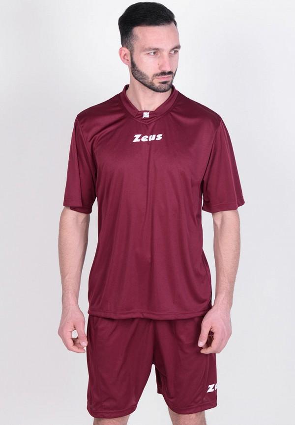 мужской спортивный костюм zeus, бордовый