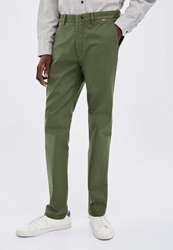 мужские повседневные брюки springfield, зеленые